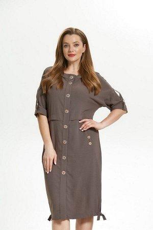 Платье Магия моды 1717 какао