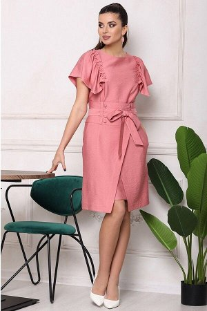 Платье, юбка Мода Юрс 2682 коралл