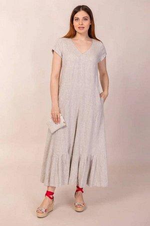 Платье Ружана 318-2 натуральный