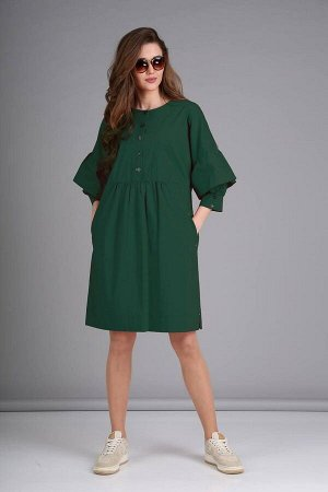 Платье TVIN 8112 морская_волна