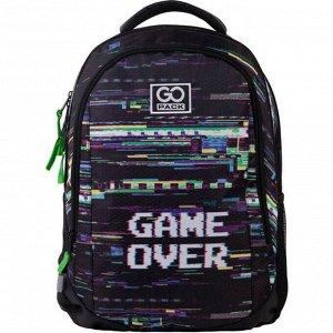 Рюкзак молодежный, GoPack 133, 43x30x16 см, эргономичная спинка, Game over