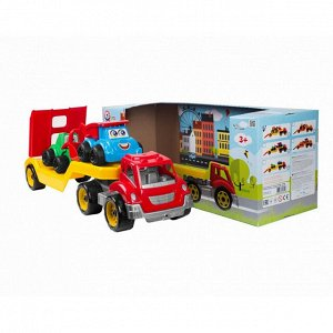 Машина Автовоз Титан + Стройтехника в коробке (4шт) 64*21*24 Т3930