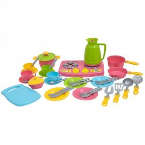Кухонный набор №7 38 предметов в пакете (8шт) Т3589