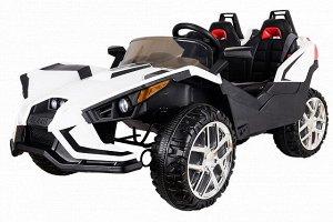 Детский электромобиль (2020) JC888 (12V, колесо EVA, экокожа)