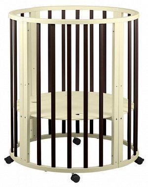 Кровать трансформер 8 в 1 Круг/Овал