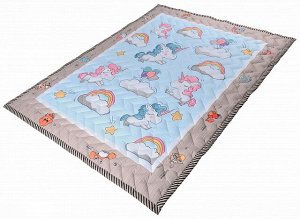 Farfello Складной детский стеганый коврик-одеяло Z1