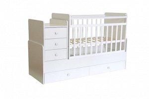 Кровать трансформер детская Фея 1100