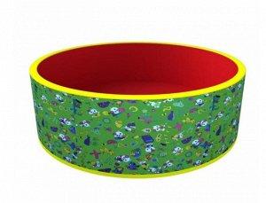 """Romana Сухой бассейн """"Веселая полянка"""" 100*33 см,без шариков, оксфорд ткань, таффета"""