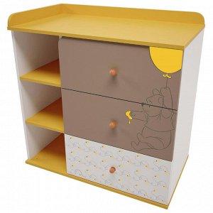 Комод Polini kids Disney baby 5090 с 3 ящиками