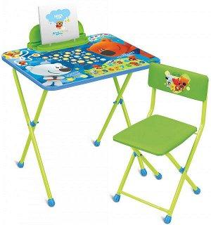 ММ1/1 Комплект Ми-Ми-Мишки с азбукой (стол520+пенал+мягкий стул)