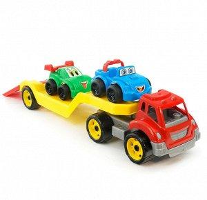 Машина Автовоз Титан + Машинки в коробке (4шт) 64*21*24 Т3909