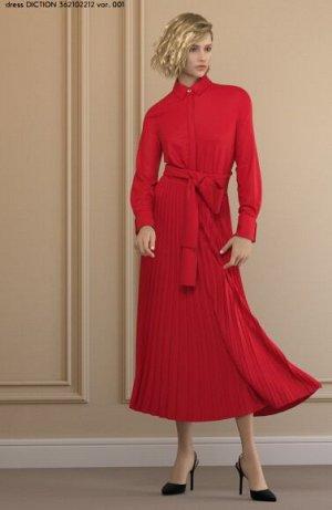 Платье 362102212 var. 001 92% Poliestere, 8% Elastan