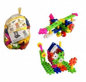 """Кострома. Конструктор """"Малыш 4"""" 150 деталей, пластик, в сетке"""
