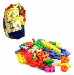 """Кострома. Конструктор """"Малыш 5"""" 210 деталей, пластик, в сетке"""