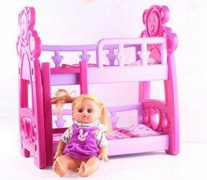 Набор: кукла, кроватка