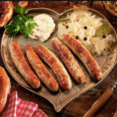 Морепродукты! Мясо! Овощи! Тортики! Выпечка — Сосиски и Сардельки
