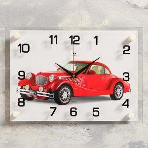 "Часы настенные, серия: Транспорт, ""Винтаж"", 25х35  см, микс"