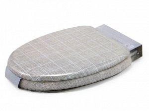Мягкое сиденье для унитаза Lino square-O