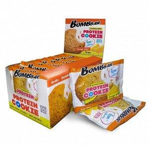 Печенье протеиновое апельсин-имбирь Protein Cookie orange ginger Bombbar 40 гр.