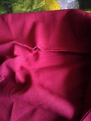 Рубашка Цвет красный  Брак дырочка, доп фото