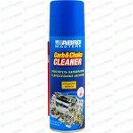 Очиститель карбюратора и дроссельных заслонок ABRO Masters Carb & Choke Cleaner, улучшает работу двигателя, аэрозоль 160г (+трубка), арт. CC-090-RE