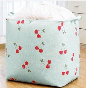 Корзина для белья текстильная 100 литров с завязками кт-10
