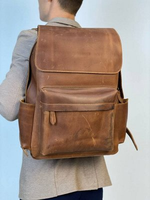 Рюкзак мужской. Натуральная кожа.