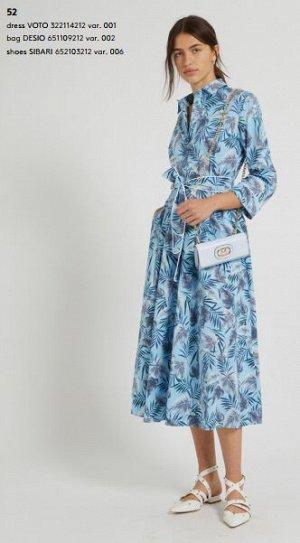 Платье 322114212 var. 001 97% Cotone, 3% Elastan