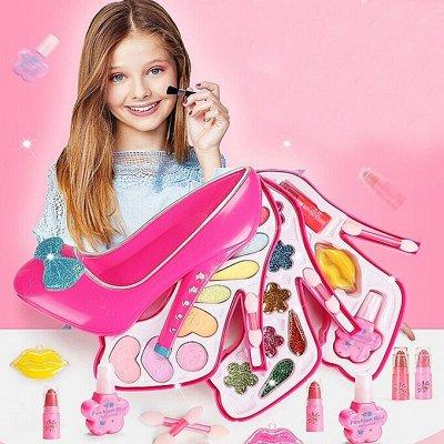 Для стильного образа! Бижутерия, повязки, заколки, очки — Детская декоративная косметика и маникюр