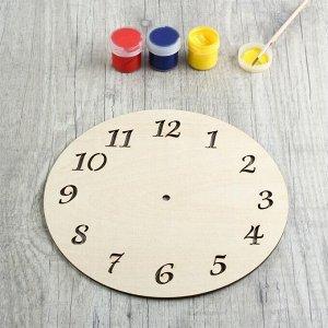 Заготовка для творчества «Циферблат часов»