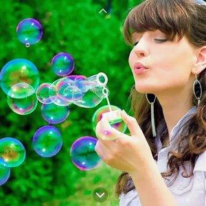 Мыльные пузыри Фрукты