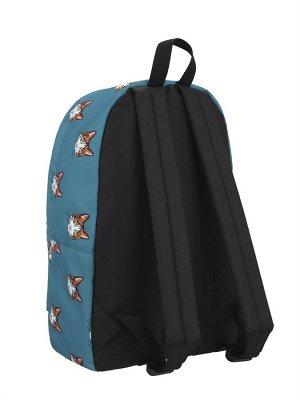Рюкзак  ZAIN 375 (Коты синий фон)