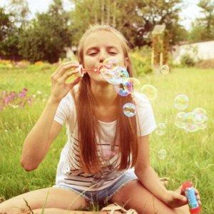 Мыльные пузыри Единорожка