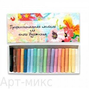 Сухая пастель для юного художника, 20 цветов, Подольск-Арт