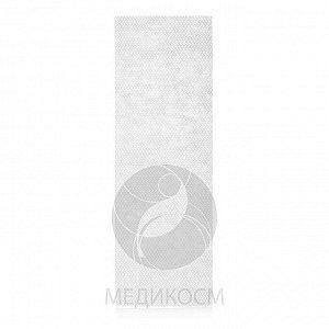 MEDICOSM Полоски для депиляции 7х20см., полиэстер, белые, 100 шт. в пачке