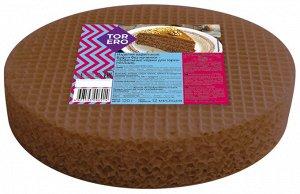 Вафельные коржи для торта (темные) 120г