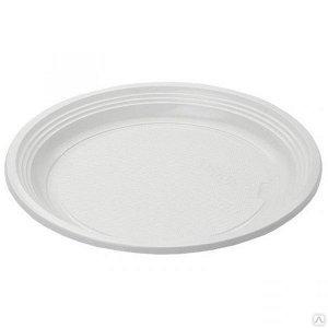 Тарелка плоская ø 205 мм  из пластика