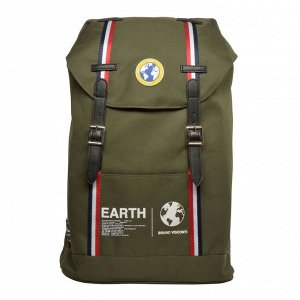 Рюкзак Bruno Visconti Планета Земля темно-зеленый,12-011-001_11