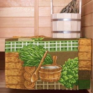 Полотенце банное вафельное 150*60
