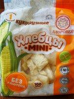 Хлебцы mini 100г рисово-кукурузные