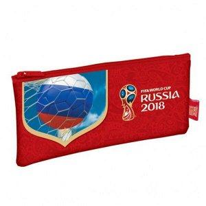 """Пенал """"Хатбер ФИФА Гол!"""" мягкий, на молнии, синий арт. Npk_38154"""