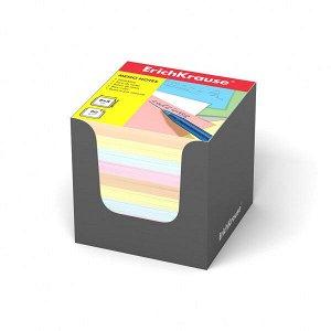 "Блок для записей ""ErichKrause"" 80х80х80 4 цвета в серой карт. подставке 1/24 арт. ЕК-36996"