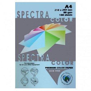 Бумага Spectra Colour A4 100л/пач 80 гр Light Blue №180 (1/22) арт. 180 (1/22)