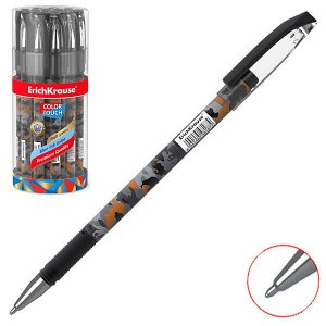 "Ручка шарик ""ErichKrause ColorTouch.Rough Native"" 0.7мм синяя в тубе 1/24 арт. ЕК-48766"