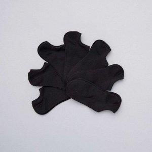 Комплект из 7 пар укороченных носков - черный