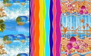 Набор вафельных полотенец Спектр+ (3шт)