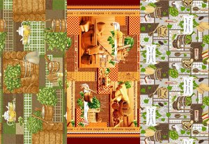Набор вафельных полотенец Банька+ (3шт)