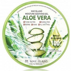 May Island Универсальный гель с 100% алоэвера, Aloe Vera Purity 100% Soothing Gel 300 мл