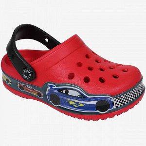Пляжная обувь красный