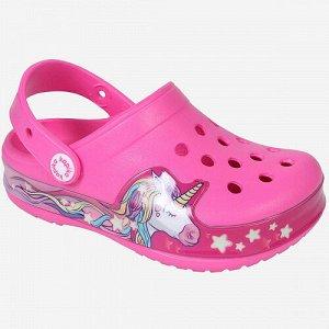 Пляжная обувь розовый